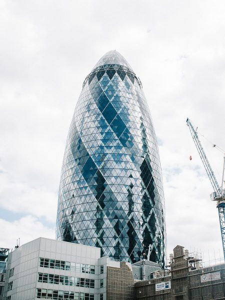 Gherkin at a London wedding