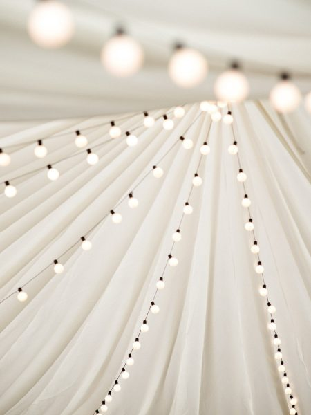 Marquee strewn lighting