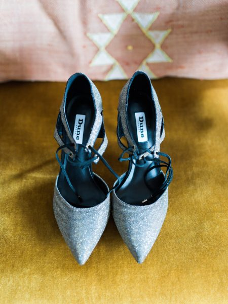 Silver Dune wedding shoes