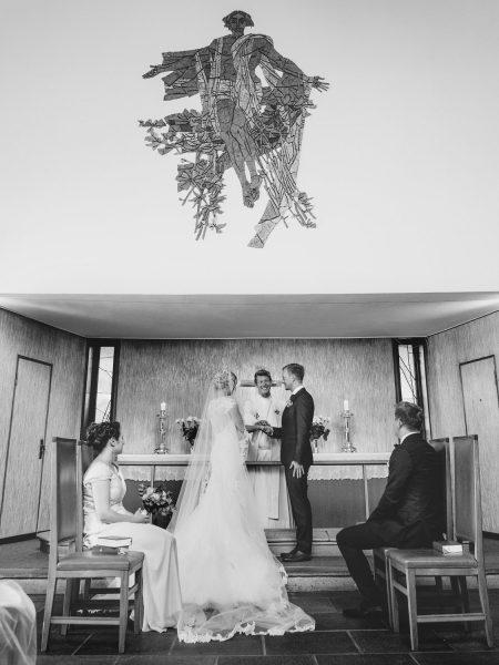 Ceremony at Sjømannskirken Kong Haakons Kirke