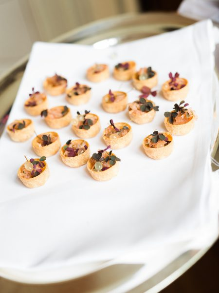 Wedding canapes Sølyst Copenhagen