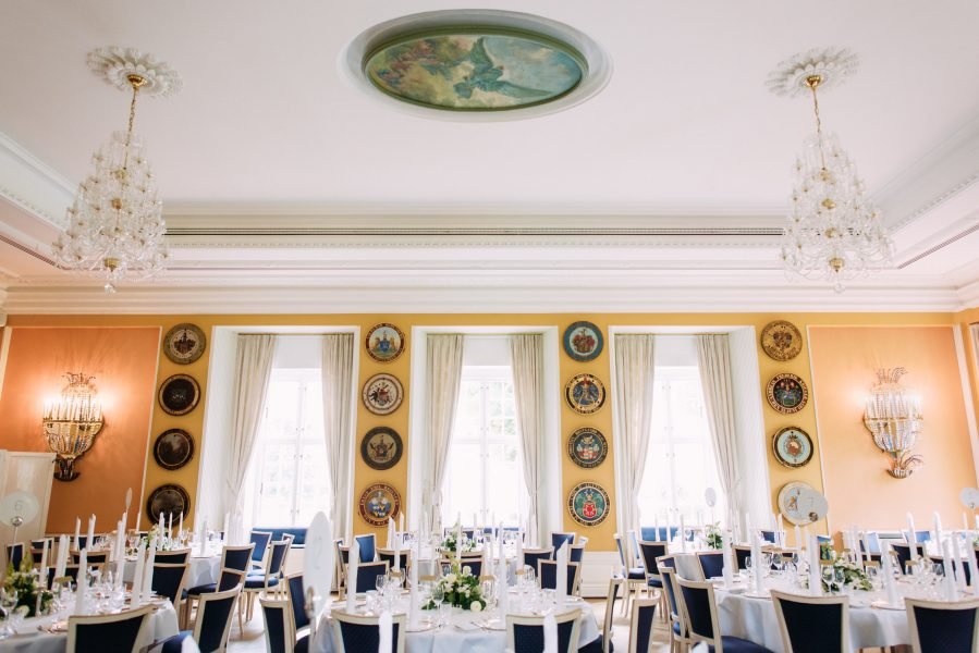Grand Wedding reception breakfast room Sølyst Copenhagen