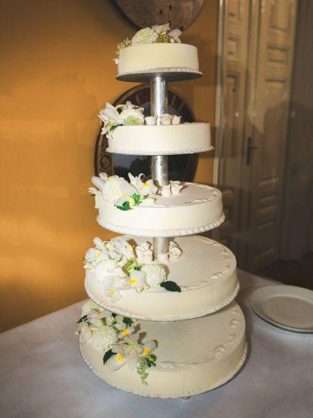 Wedding cake Sølyst Copenhagen