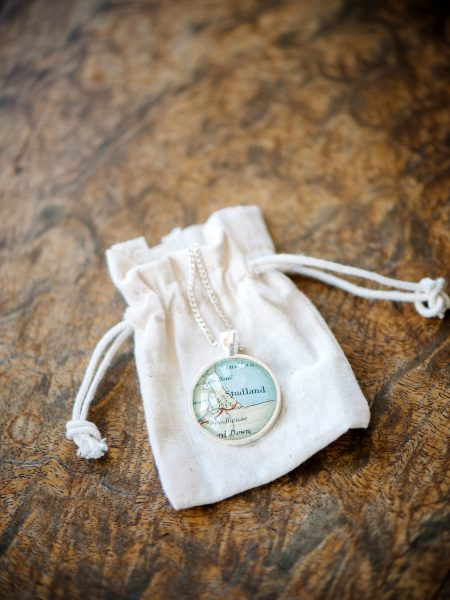 Locket present map of Studland Bay Dorset
