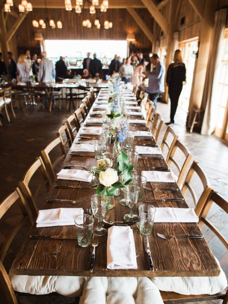 Soho Farmhouse wedding Oxfordshire table decor